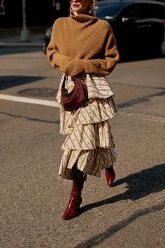 This Prada It Bag Is 3 Times Cheaper Than Most Prada Bags | Who What Wear Cold Weather Fashion, Outfit Combinations, Nylon Bag, Prada Bag, Cloth Bags, Who What Wear, Cool Outfits, Amazing Outfits, Autumn Winter Fashion