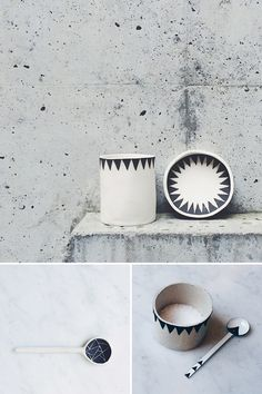 Dot & co's ceramics are simple yet terribly elegant, a true beauty!