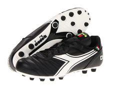 Diadora Brasil Classic Men s Soccer Shoes Black White c00b1a3d7a4b5