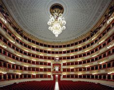 La Scala, Milan, Italy, picture from the series Operas by Rafael Neff, LUMAS Artist ✓ Covent Garden, Oslo Opera House, Icelandic Artists, Milan Italy, Concert Hall, Monte Carlo, Italy Travel, Italy Trip, Italy Vacation