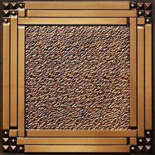 """Deco Corners - Faux Tin Ceiling Tile - 24""""x24"""" - #209"""