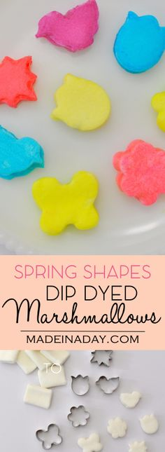 Spring Shapes Dip Dy