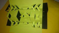 estructuras plegables, varios ejes de simetria