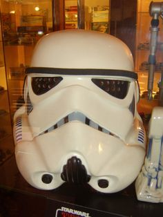 How to Make a Storm Trooper Helmet from a Milk Jug. Totally going to whip these up!