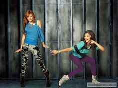Bella Thorne & Zendaya: New 'Shake It Up' Promo Pics!: Photo Check out these fun new promo pics of Bella Thorne and Zendaya for Shake It Up! Teenager Outfits, Outfits For Teens, Cool Outfits, Casual Outfits, Disney Outfits, Old Disney, Disney Girls, Disney Princess, Bella Thorne And Zendaya