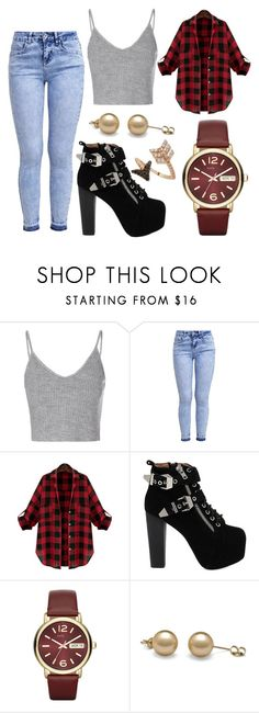 """""""Untitled #673"""" by bianca13-i ❤ liked on Polyvore featuring Glamorous, New Look, Jeffrey Campbell, Marc by Marc Jacobs and Bee Goddess"""