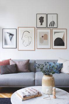 Til dagligt driver han The Poster Club - i fritiden indretter han familiens hjem | Boligmagasinet.dk