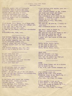 1950s 4-H Camp Songs