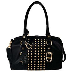 1b9e1c4cc945 SALE PRICE  24 - FASH Christmas Sale! Studded Doctor Style Handbag PU Leather  Bag Casual