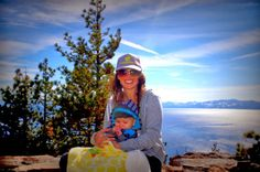 Boo's first Lake Tahoe adventure. Finally getting to wear his knitted hats!