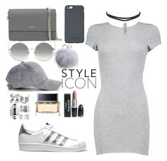 """Street style"" by babypinepple on Polyvore featuring мода, Boohoo, adidas Originals, DKNY, OtterBox, Marc Jacobs, Dena и Givenchy"