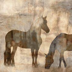 Equine II Print by Jason Mann at Art.com