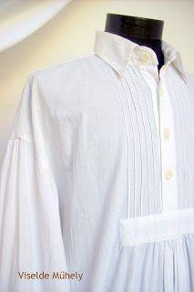 Viselde Műhely: Paraszting Edm, Ruffle Blouse, Long Sleeve, Sleeves, Tops, Women, Fashion, Moda, Long Dress Patterns
