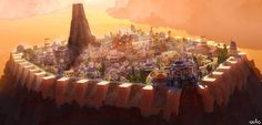 Star Wars, City State, Medieval, Dolores Park, Concept, Fantasy, Stars, World, Places