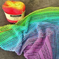 Ravelry: Janet2709's Scheepjes Whirl Candy Shawl