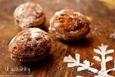 Bezlepkové oriešky Russian Recipes, Hamburger, Vegetarian Recipes, Muffin, Gluten Free, Bread, Cookies, Baking, Breakfast