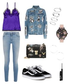 """""""Pawnee"""" by chemduhart on Polyvore featuring beauty, Eres, Valentino, Givenchy, Frame and Olivia Burton"""