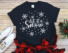 Christmas T Shirt Design, Disney Christmas Shirts, Christmas Clothes, Cricut Christmas Ideas, Christmas Svg, Teaching Shirts, New Years Shirts, Winter Clipart, Winter Shirts