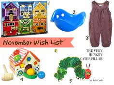 My November Wish List for Sofia | Home Life Abroad @HomeLifeAbroad.com  #wishlist #babyproducts
