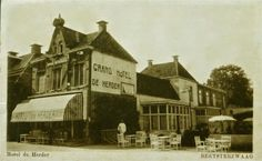 """Beetsterzwaag - Grand Hotel """"De Herder"""" uitgave D.B. Schroor, Beetsterzwaag"""