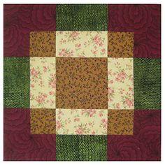 Vintage Quilt Block Patterns | Antique Tile Quilt Block Pattern