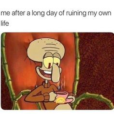 """39 Relatable Spongebob Memes That'll Leave You Personally Attacked - Funny memes that """"GET IT"""" and want you to too. Get the latest funniest memes and keep up what is going on in the meme-o-sphere. Really Funny Memes, Stupid Funny Memes, Funny Relatable Memes, Funny Tweets, Haha Funny, Messed Up Memes, Funny Stuff, Funny Laugh, Fun Funny"""