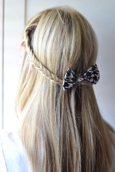 Lexi would look so cute with her hair like this. Come visit mum mum Lex. A Little Slice Of: Easy Twisty Bun