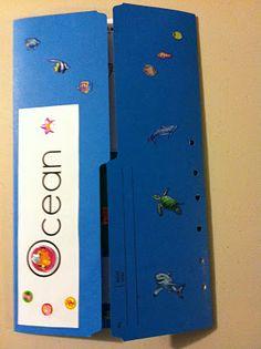 Ocean Lapbook with lots of Ocean printable resources