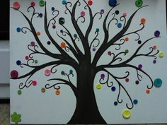 Button tree by me