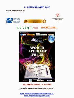 World Literary Prize: il bando della I edizione