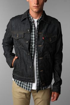 Levi's Cycling Jacket. We have three of 'em in the office.