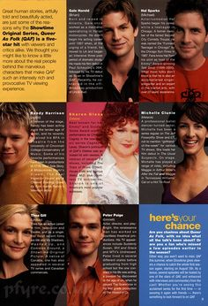 queer as folk cast biografi | galerandyQAF | Flickr