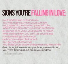 Quotes about falling in love signs your falling in love picture on visualizeus on we heart it