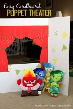 Adventures in all things food: DIY Puppet Theater - Expressing Emotions & Creative Play