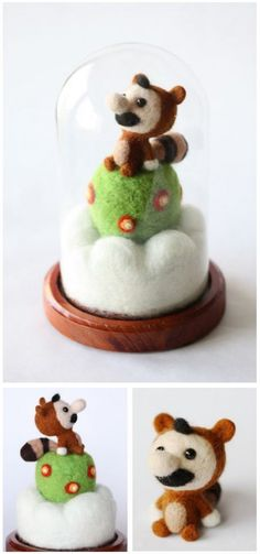 The Most Adorable Things You'll See Today: Felted Mario and Toad Dolls [Pics]