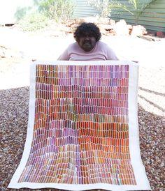 Jeannie Mills Pwerl http://www.aboriginalartcentre.com.au/wp-content/uploads/2012/01/P1080411.jpg