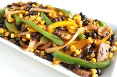 The Garden Grazer: Corn and Black Bean Fajitas