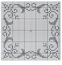 Matching bedspread and rug Cross Stitch Boarders, Cross Stitch Flowers, Counted Cross Stitch Patterns, Cross Stitch Charts, Cross Stitch Designs, Cross Stitching, Cross Stitch Embroidery, Filet Crochet, Crochet Lace Edging