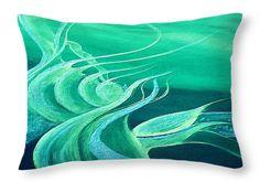 """Emerald Expression Throw Pillow zum Verkauf von Faye Anastasopoulou - 20 """"x"""