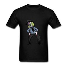 Zxcvgoo Fashion Printing Mens Beetlejuice Cowboy Short Sleeve T shirt L @ niftywarehouse.com #NiftyWarehouse #Geek #Horror #Scary #Halloween