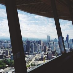 Sky City Restaurant, Space Needle. Seattle, WA