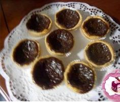Pasteis de nata chocolate