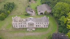 Abandoned Chateau from the sky Normandy France Drone Normandy France, Abandoned, Sky, Explore, Mansions, House Styles, Teeth, Travel, Film