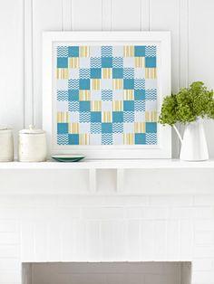 DIY paper quilt