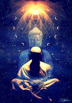 Tantra Nectar - The School of Love & Meditation Art Buddha, Art Visionnaire, Amitabha Buddha, Templer, Psy Art, Meditation Music, Meditation Retreat, Chakra Meditation, Visionary Art