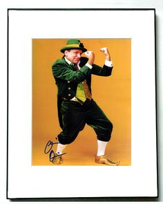 Colin Quinn Autographed Signed Green Leprechaun Photo & Proof