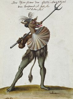 """Illustrations from a 1775 book about magic and demonology, Compendium rarissimum totius Artis Magicae sistematisatae per celeberrimos Artis hujus Magistros. """"Noli me tangere"""" means """"Do not touch me"""". Occult Books, Occult Art, Caravaggio, Dragons, Noli Me Tangere, Medieval Art, Dark Ages, Colorful Drawings, Mythical Creatures"""