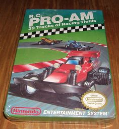 R.C. PRO-AM - NES - Donated By Raul Carchi