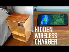 Wireless Charging Bedside Table: 4 Steps (with Pictures)