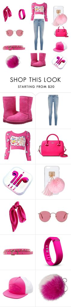 """""""i am a very expensive child"""" by jahirahenry56 ❤ liked on Polyvore featuring UGG Australia, Givenchy, Jeremy Scott, PhunkeeTree, Ashlyn'd, DKNY, Ray-Ban, Valentino, Fitbit and Vans"""